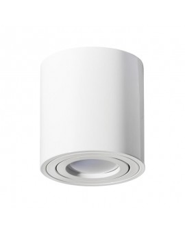 Surface mounted luminaire Spot Ceiling lamp Round White 115 mm