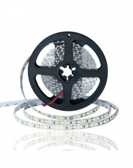 Taśma LED 12V 3528 120 LED/m 9,6W IP20 6500K Biała Zimna STD