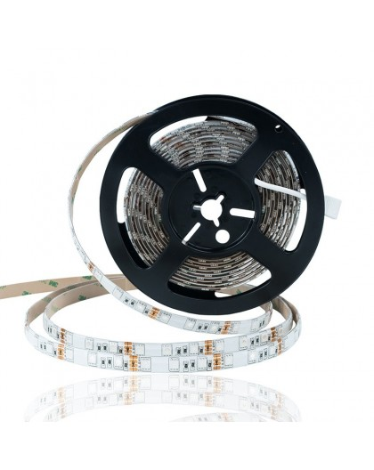 Taśma LED RGB 12V 5050 60 LED/m 14,4W IP65 Kolorowa STD