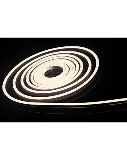 Neon LED 6x12 sekcja 1 cm półokrągły silikonowy 12V Biały Neutralny