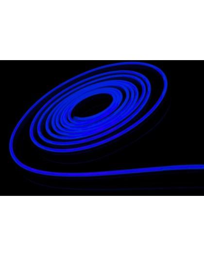 Neon LED 6x12 sekcja 1 cm półokrągły silikonowy 12V Niebieski