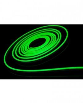 Neon LED 6x12 sekcja 1 cm półokrągły silikonowy 12V Zielony