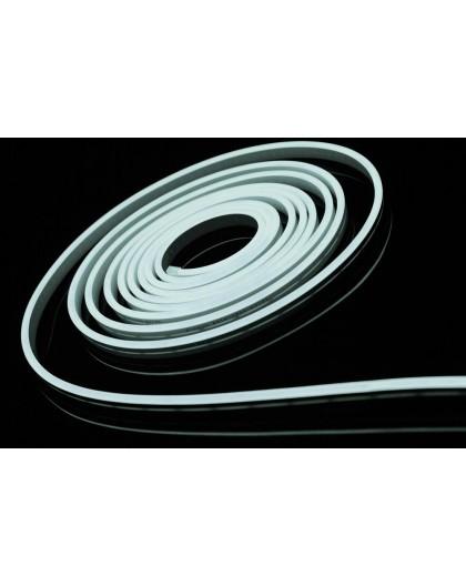 Neon LED Silikonowy 8x16 sekcja 2,5cm 12V Biały Zimny