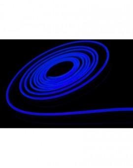 Neon LED Silikonowy 8x16 sekcja 2,5cm 12V Niebieski