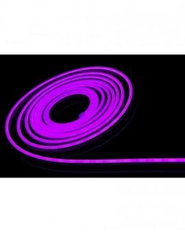 Neon LED Silikonowy 8x16 sekcja 2,5cm 12V Fioletowy