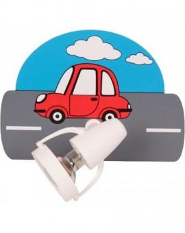 Kolorowy kinkiet Samochody ścienna lampa dziecięca