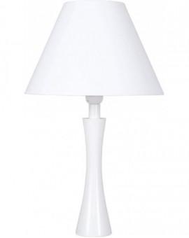 Nowoczesna Biała Lampa Stojąca Diana Biurkowa