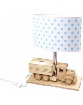 Biurkowa Lampa Dziecięca Ciężąrówka Skarbonka
