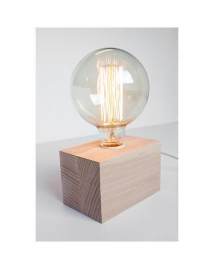 Stylowa stojąca lampa na biurko Vintage Cubo