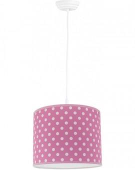 Różowa Wisząca Lampa Classic Do Pokoju Dziecka 25 cm