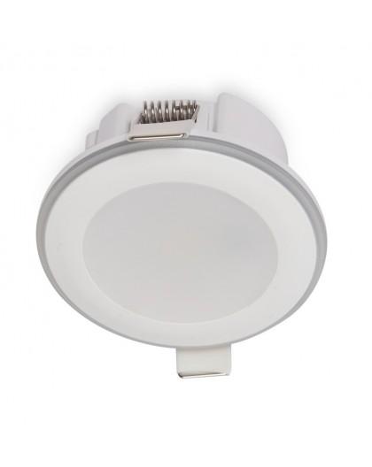 Oprawa halogenowa LED Halo Ozbony Pierścień 5,5W 3000K Biała Ciepła
