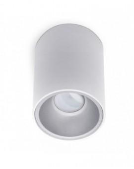Oprawa sufitowa natynkowa Spot Biały Biały środek 1x GU10 Kivi 140 mm
