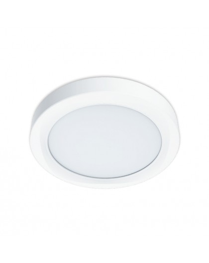 Biała Lampa ścienno-sufitowa LED Kinkiet Sigaro 24W 4000K 230V