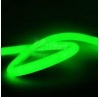 Zielony Neon LED Flex 230V Taśma Okrągła 360° IP67