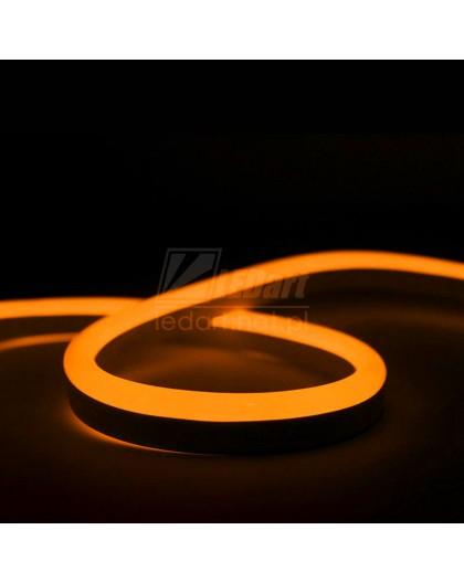 Pomarańczowy Neon LED Flex 24V Taśma IP67 Wodoszczelna