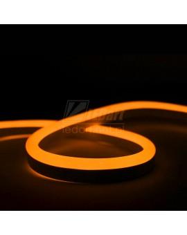 Neon LED 12V Pomarańczowy IP67 Taśma Wodoszczelna