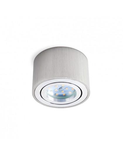 Oprawa natynkowa Okrągła Srebrna 5 cm do LED Insert OH36S