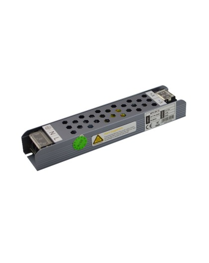 Zasilacz montażowy LED 60W 12V meblowy stałonapięciowy