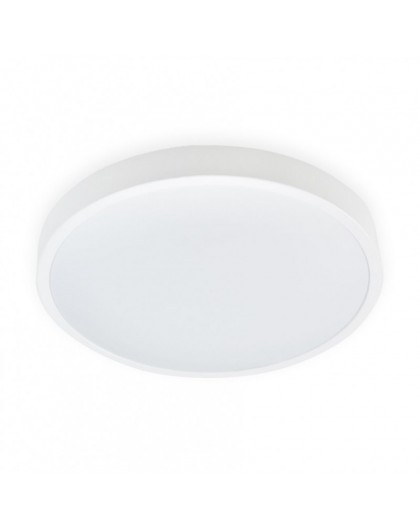 12W IP44 Biała Lampa LED Plafon 230V Biała Neutralna 4000K Zoe 3 lata
