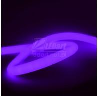 Okrągły Neon LED 230V 360° Fioletowy Standard