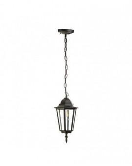 Klasyczna Wisząca Lampa ogrodowa LO4105 Czarna