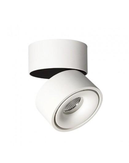 Reflektor Oprawa natynkowa LED regulowana Lampa sufitowa 8W 3000K Biała Lahti Mini