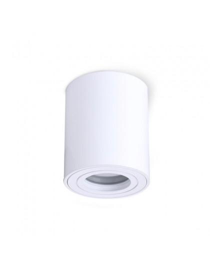 Zewnętrzna Lampa sufitowa Spot Oprawa natynkowa Okrągła Biała IP44