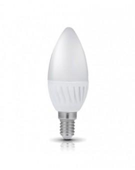 Żarówka LED E14 Świeczka 9W 6000K Biała Zimna Premium