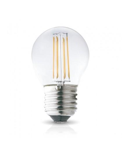 Żarówka LED Filament E27 4W 3000K Biała Ciepła