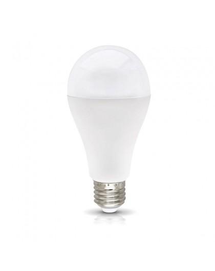 Mocna Żarówka LED E27 GS 18W 6000K Biała Zimna