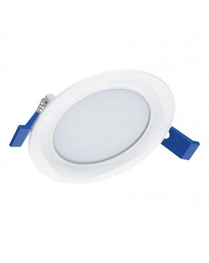 Elegancja Lampa sufitowa LED podtynkowa 18W 230V 4000K Biała Neutralna Sigaro