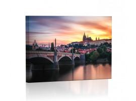 Obrazy LED - Miasta