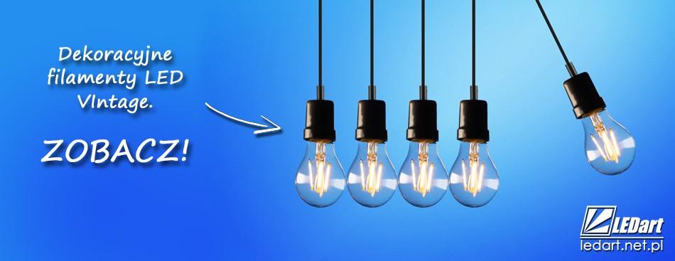 Filamenty LED Dekoracyjne Żarówki LED Edison Vintage Loft